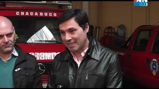 EZEQUIEL COURADE   JUAN CRUZ MAGDALENA   JORGELINA SOÑEZ   GUSTAVO DIA PALACIO   ENTREGA DE PRESENTE