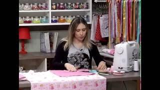 Como fazer uma toalha de Bebê forrada – 2da parte