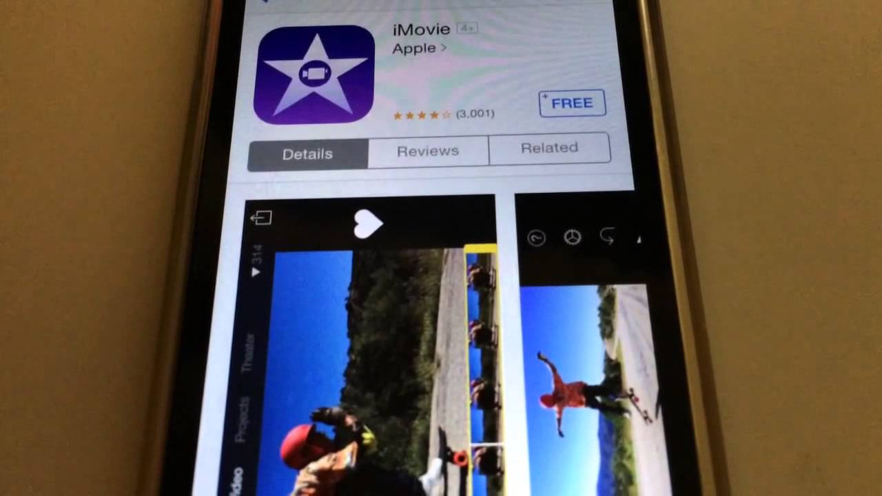 Imovie free iphone