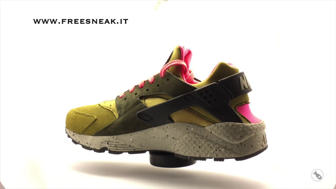 6462744e2bf8d Sneakers 360 Nike Air Huarache Run Premium 704830-302 - YouTube