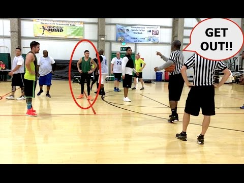 KICKED OUT OF MY BBALL GAME! (Almost got in a fight)