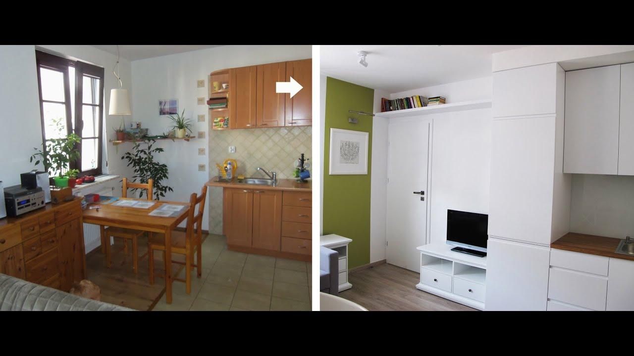Szybkie Metamorfozy Odc71 Wielofunkcyjne Wnętrze Salon Kuchnia I Pokój Dziecka