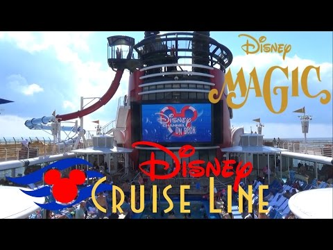 2017 Disney Magic Cruise Ship Tour & Review with The Legend
