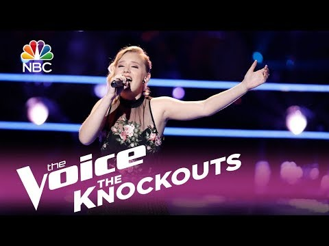 """The Voice 2017 Knockout - Addison Agen: """"Beneath Your Beautiful"""""""