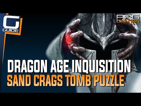 Dragon Age Inquisition - Lighting Braziers in Sand Crags Tomb Puzzle (Hissing Wastes)