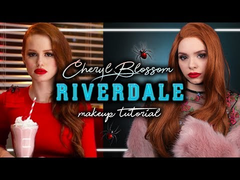 Download Youtube: RIVERDALE - CHERYL BLOSSOM / Madelaine Petsch - Makeup Tutorial