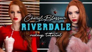 RIVERDALE - CHERYL BLOSSOM / Madelaine Petsch - Makeup Tutorial