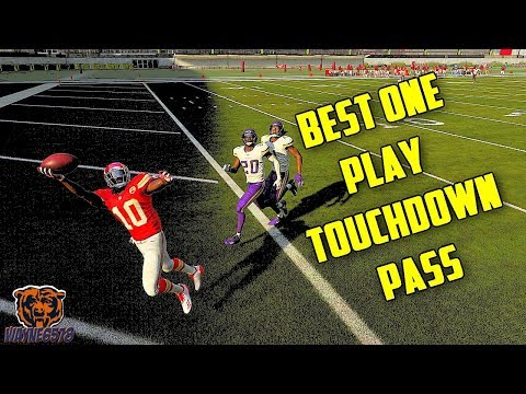 MADDEN 19 SAINTS PLAY ONE PLAY TOUCHDOWN | BEST ONE PLAY TOUCHDOWN PASS MADDEN 19 🔥