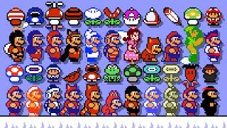 Super Mario Bros. 2 - All New Power-Ups. ᴴᴰ