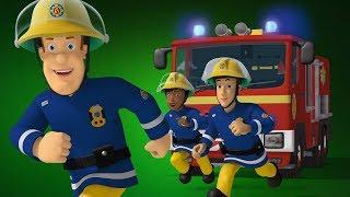 Пожарный Сэм на русском | Окруженный пламенем -лучший спасает 🚒Компиляция |Новые серии 🔥мультфильм