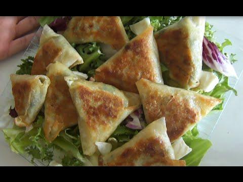 recette-facile-:-briouates/brick-aux-thons-et-épinards