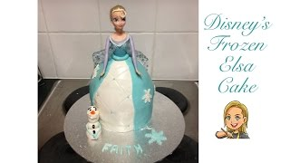 Disney Frozen Elsa Cake - Princess Cake