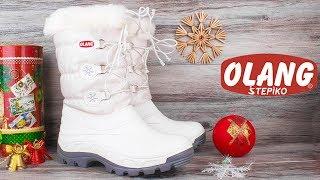 Женские зимние дутики Olang Patty 825 Bianco| Италия |. Видео обзор от STEPIKO