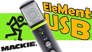 Mackie EM USB Mikrofon Test TechBoss Deutsch 2020