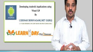 Developing Android Application using Visual C#