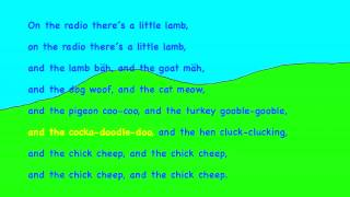 The little chick cheep HD Lyrics Text