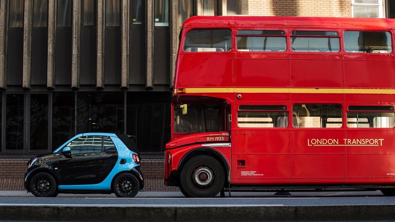 Test drive - La nouvelle smart Brabus à Londres