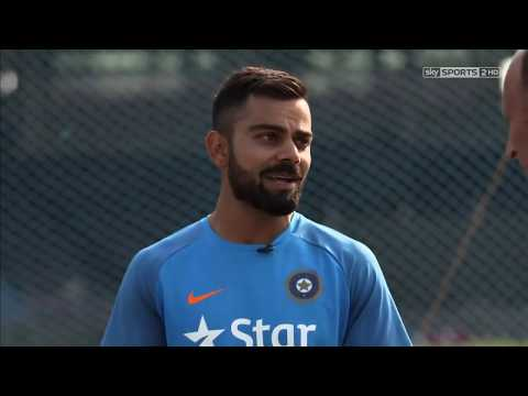virat kohli improving his batting skills with nassir hussain