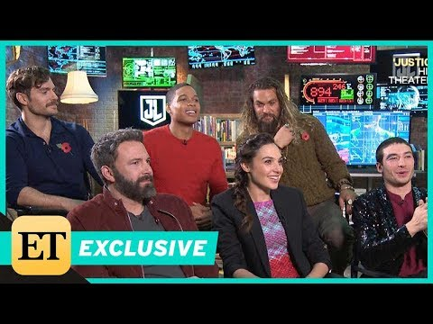 'Justice League' Cast Reveals Secrets From Set: Who Had a Hot Tub in Their Trailer?! (Exclusive)