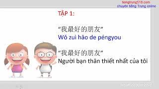 Học tiếng Trung qua bộ truyện siêu dễ thương : Nhật ký đến trường của Mễ Tiểu Khuyên - Tập 1