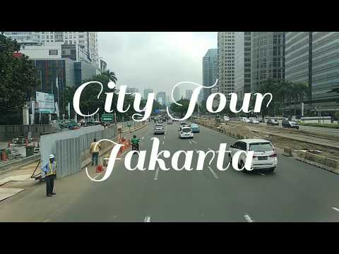 Onboard the Double Decker Bus of City Tour Jakarta (Jakarta, Indonesia)