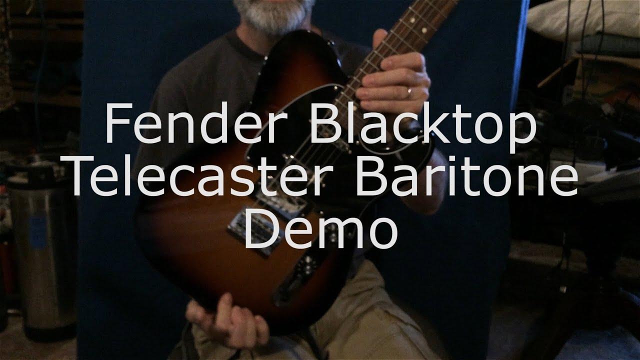 Fender Blacktop Telecaster Youtube Baritone Wiring Diagram Demo Ambient Guitar 1920x1080