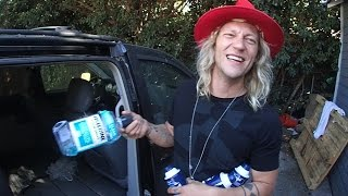 Smashing Things in a Car Door - Dudesons VLOG