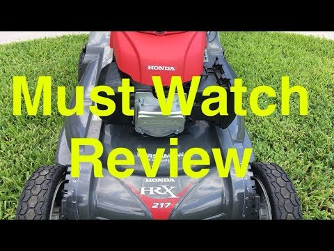 "THE REVIEW - Honda HRX217VKA 21"" 186cc Select Drive™ Self-Propelled Lawn Mower"