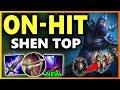 RANK 1 SHEN'S ON-HIT BUILD - Season 9 Shen Top (vs Malphite) Gameplay | Unranked to Challenger EP 14