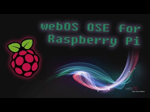 webOS Open Source Edition for Raspberry Pi