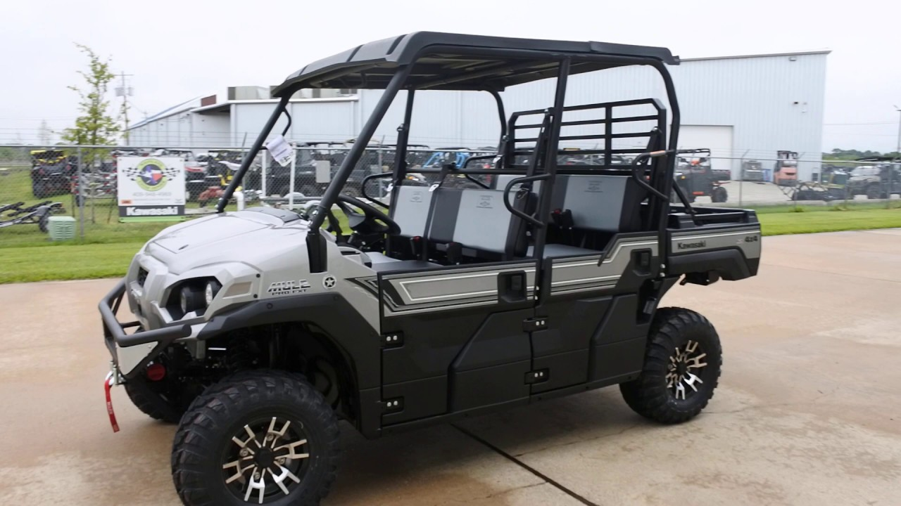 Mainlands Review Of The Updated 2020 Kawasaki Mule Pro Fxt Ranch In