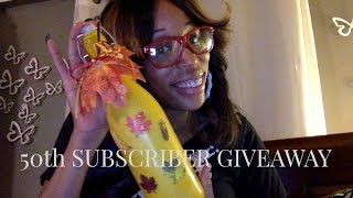 50th Subscriber Giveaway Winner! Thumbnail
