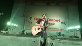 17 prishta by Ashes live at Comilla Shilpokola Academy