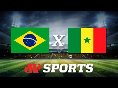 AO VIVO - Brasil x Senegal - Amistoso - 10/10/19