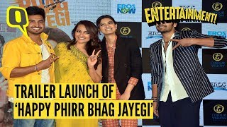 Fun Moments From Trailer Launch of Happy Phirr Bhag Jayegi | The Quint