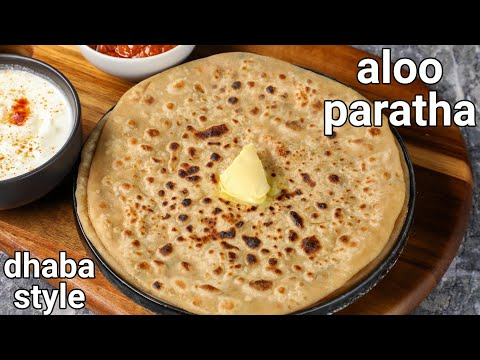 dhaba style pubjabi aloo ka paratha recipe – tips & tricks | chatpata & spicy potato paratha