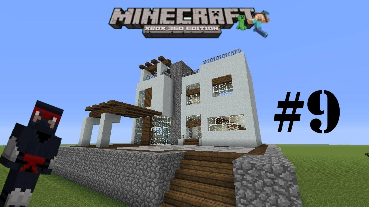 Casas minecraft xbox 360 9 casa moderna youtube for Casa moderna minecraft 0 10 4