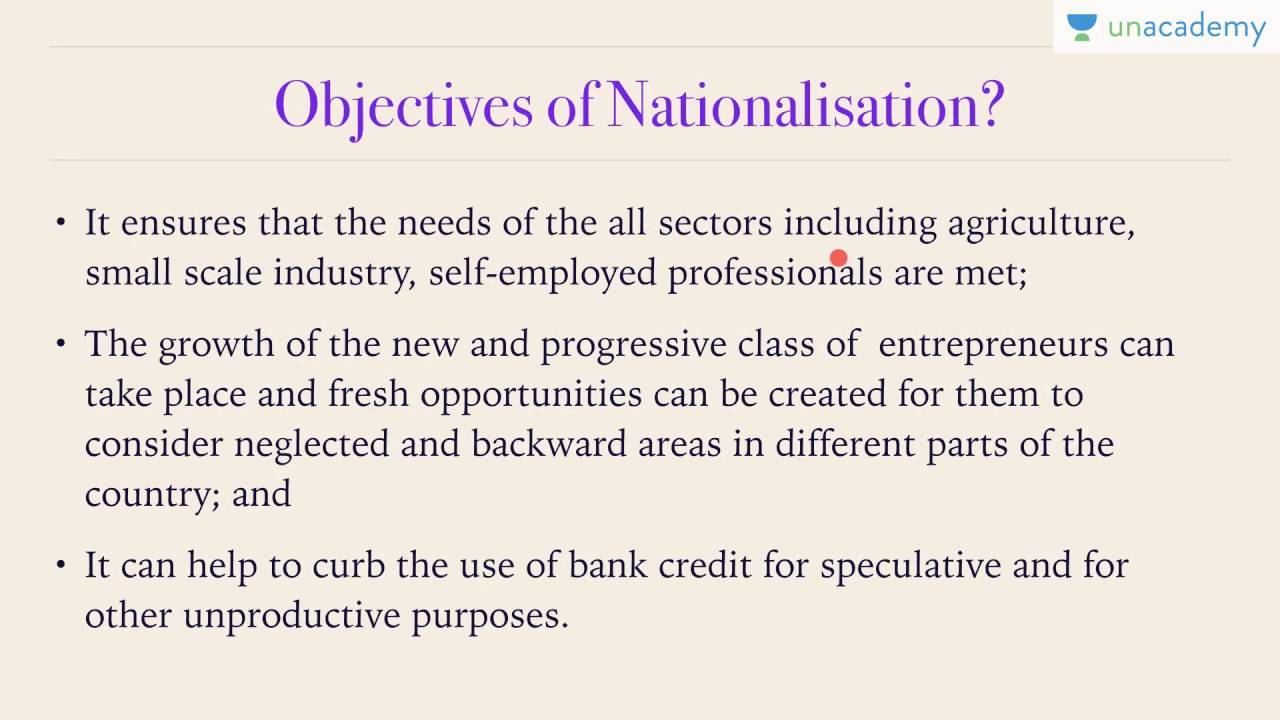 What are the advantages and disadvantages of nationalisation of commercial banks in India?