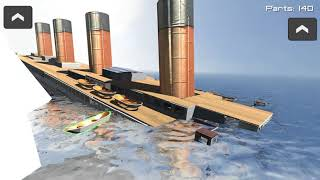 Disassembly 3d Titanic Sinks