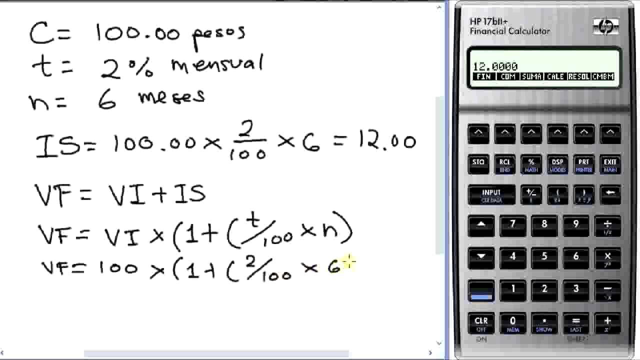 Calculadora forex interes compuesto