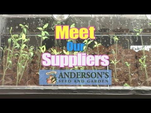 Meet our Suppliers - Anderson's Seed & Garden Logan Utah