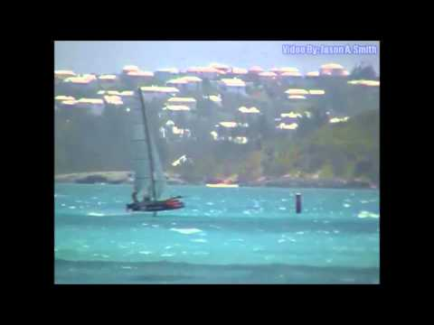 Rough Sailing For Oracle Team USA, May 13 2015