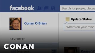 Conan's Facebook Feed Revealed - CONAN on TBS