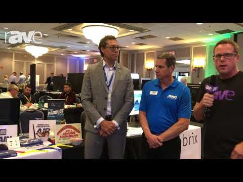 E4 AV Tour: IMAGsystems' Gerry Raffaut And Almo's Sam Taylor Chat With Gary About AV-over-IP