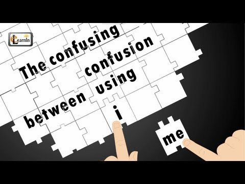 Confusing grammar mistake in English  - Using I or me