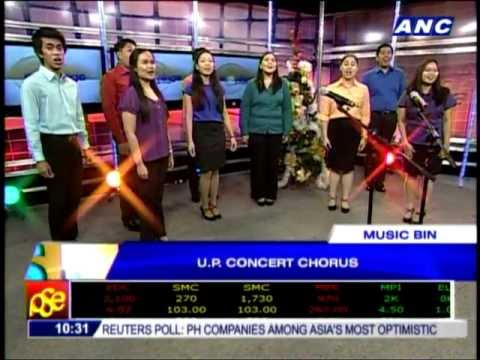 UP Concert Chorus sings Christmas carols