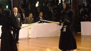 第115回 全日本剣道演武大会 教士八段の部 安達慶一先生(岩手)対辻山和良先生(神奈川)