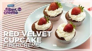 Resep Fusion Food - Red Velvet Cupcake FiberCreme