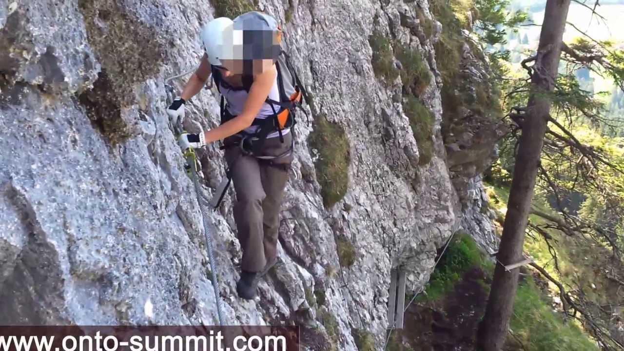 Mindelheimer Klettersteig Unfall : Tegelberg klettersteig youtube