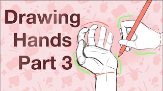 How to Draw Hands Part 3 - Holding and Grabbing - Drawing Tutorial